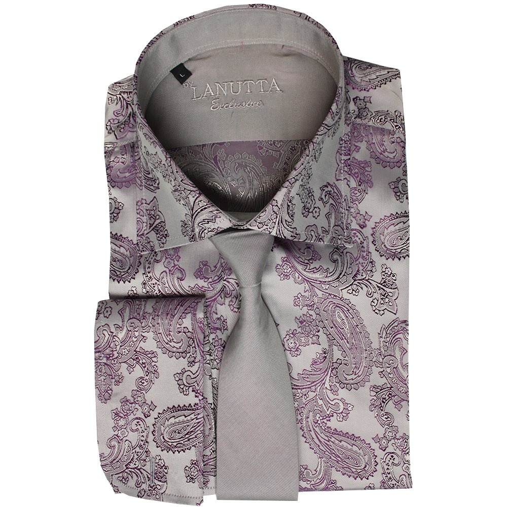 c7716021207f Buy Lanutta Shirts and Tie Sets Online | Buy Mens Shirt and Tie Sets ...