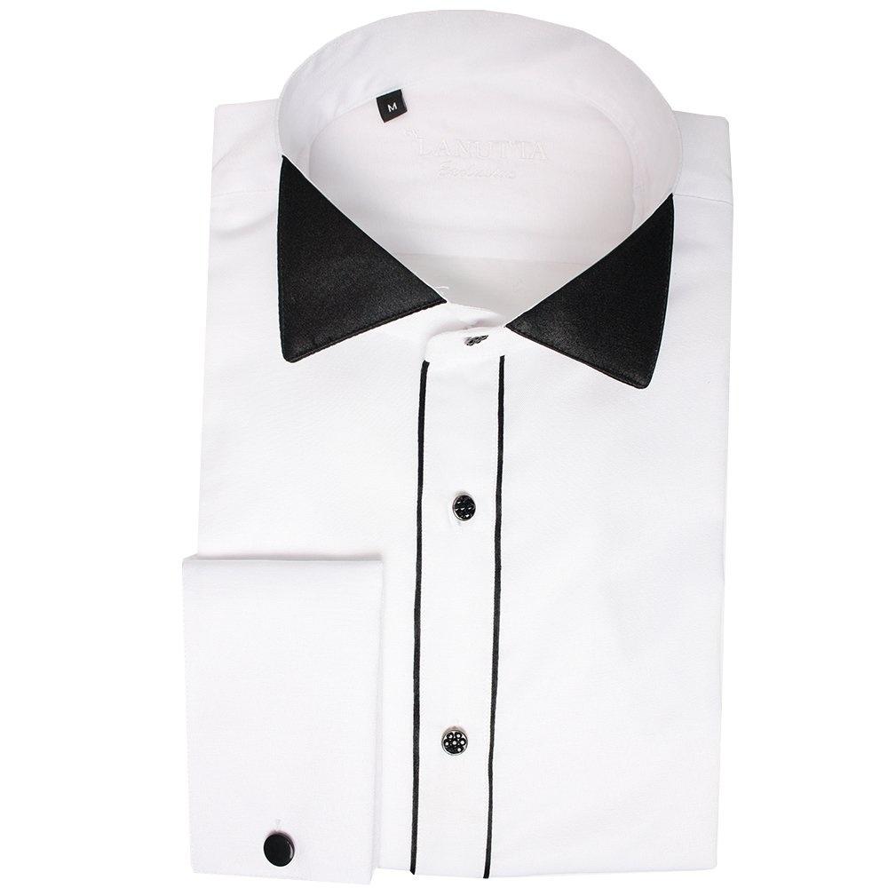 Buy Mens Wing Collar Tuxedo Shirt| Daniel Rosso DR-518 Shirt| The Shirt  Store
