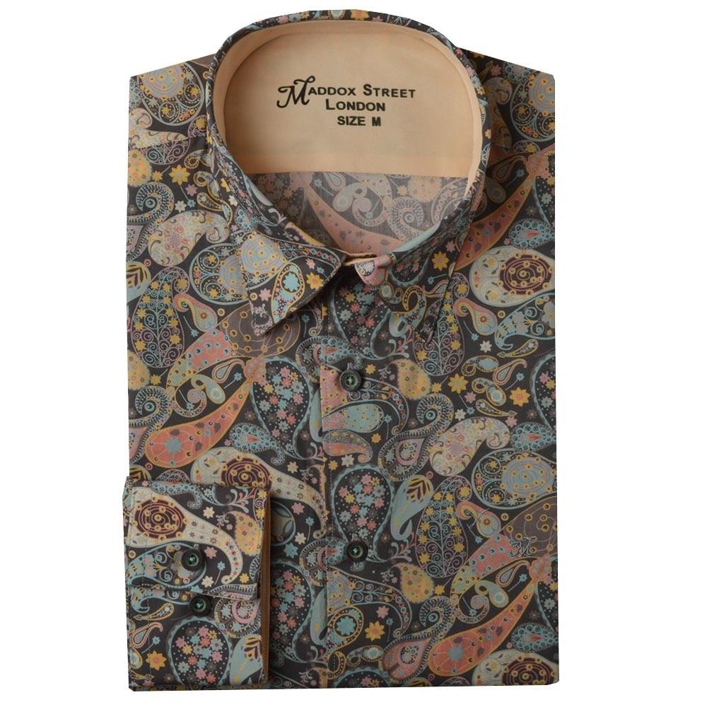 091e0b26795 Maddox Street Liberty Print Shirts