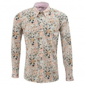 Liberty Print Design Mens Shirt