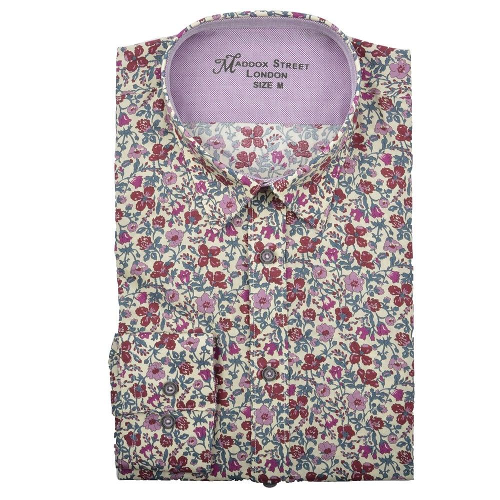 cd215993061 Maddox Street Floral Print Mens Shirt