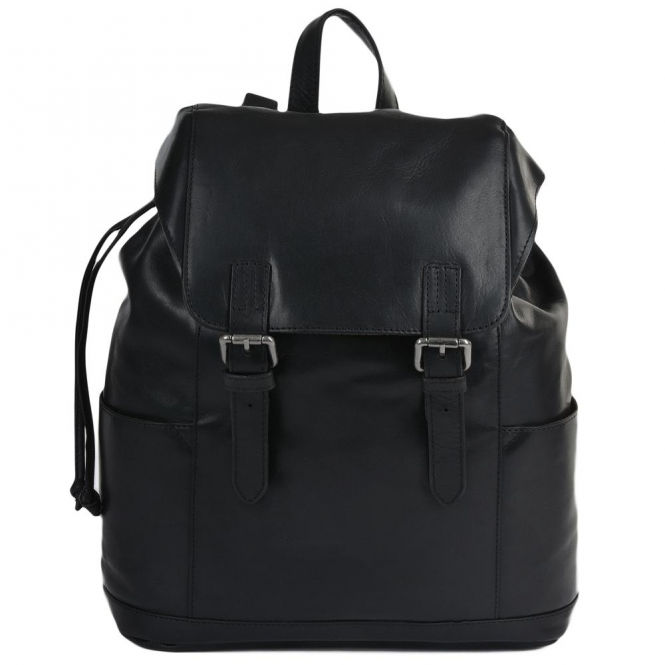 Ashwood Mens Leather Harvey Rucksack