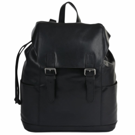 Mens Ashwood Leather Harvey Rucksack