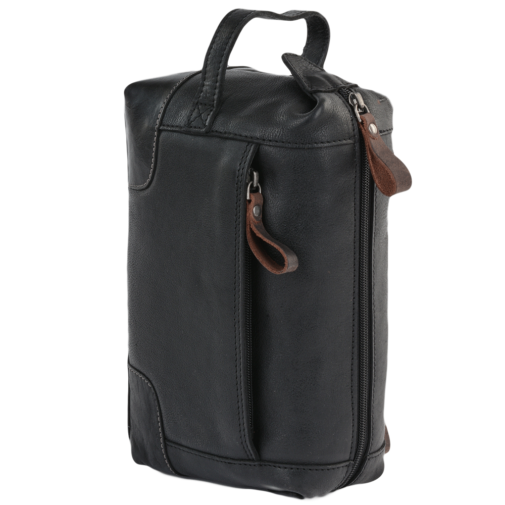 84c5eff857 Mens Ashwood Leather Wash Bag