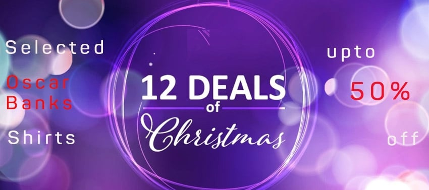12 Deals of Christmas Oscar Banks