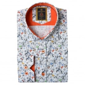 Butterfly Print Mens Shirt