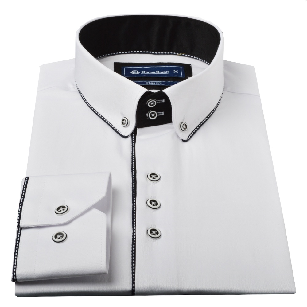Oscar Banks Button Down Collar Mens Shirts| The Shirt Store