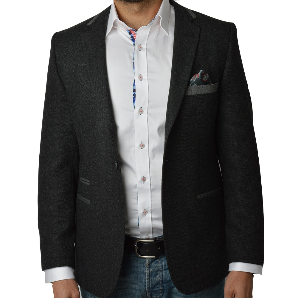 Mens Wool Blazer By Oscar Banks | Claudio Lugli | The Shirt Store