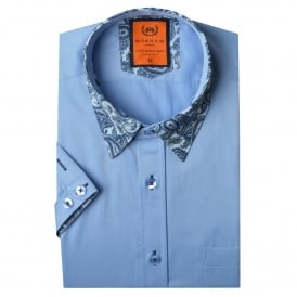 Paisley Collar Mens Shirt