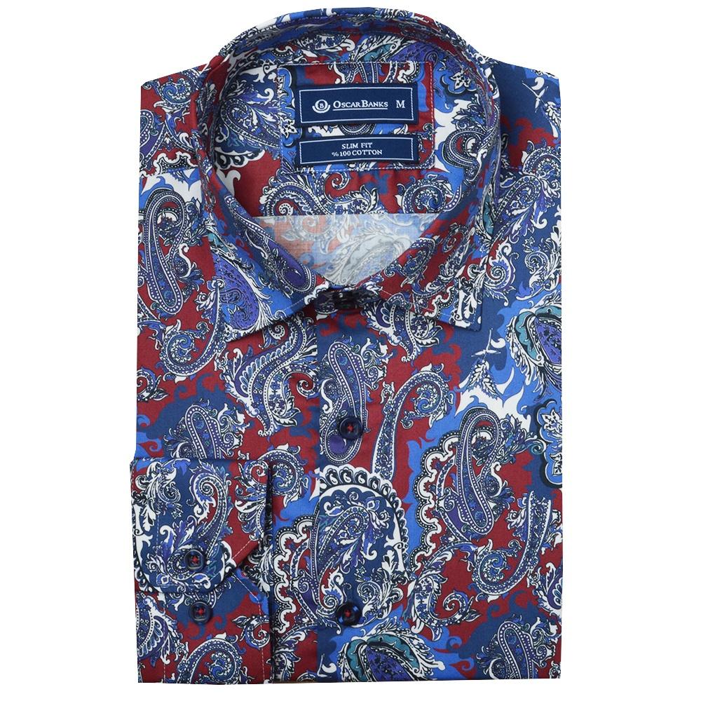 S Fashion Paisley Shirt