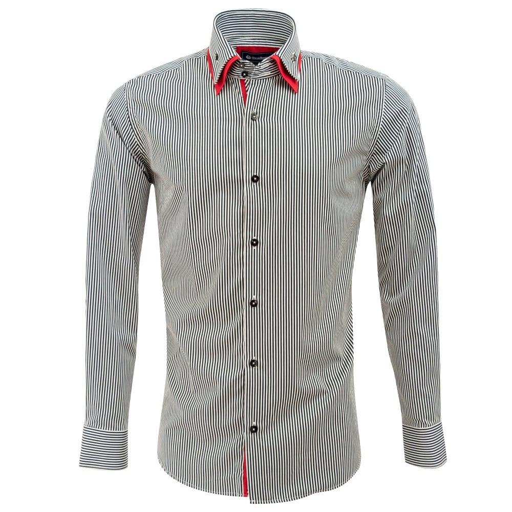 a86363e59a1 Oscar Banks Mens Designer Shirts