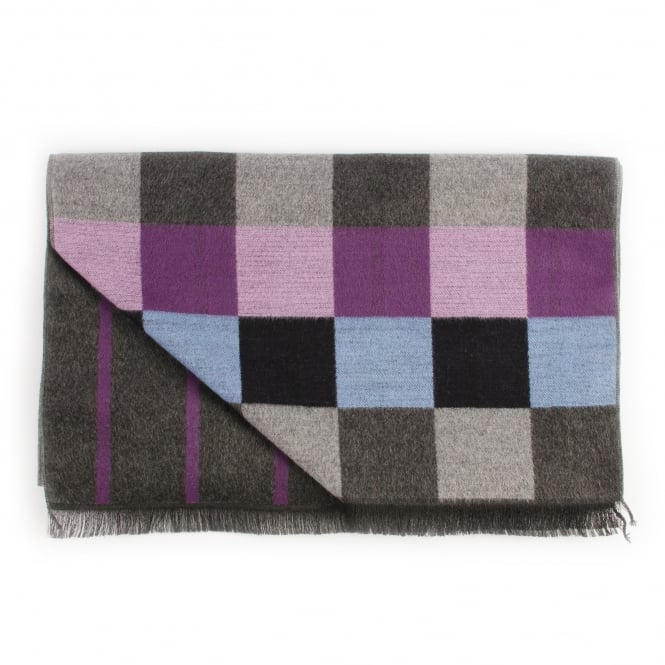 Tresanti Double Sided Mens Woven Scarf