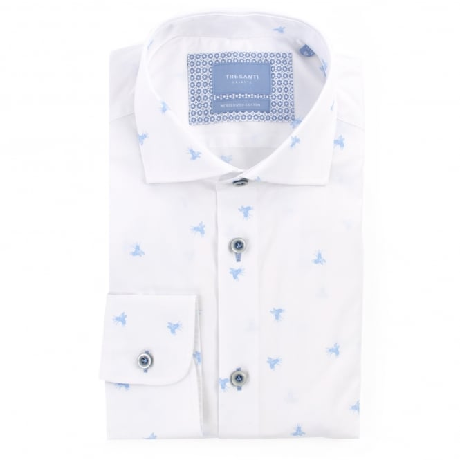Tresanti Fly Print Mens Shirt