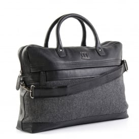 Mens Leather Portfolio Bag