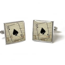 Ace of Spades Cufflinks