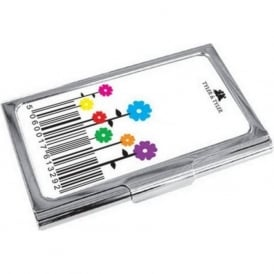 Barcode Bloom Colour Enamel Business Card Holder