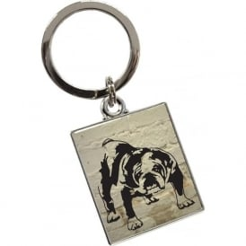 Barry Bull Dog Keyring