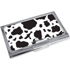 Cow Print Design Business Card Holder