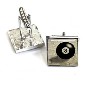 Lucky No.8 Cufflinks