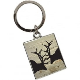 Rutting Stags Key Ring