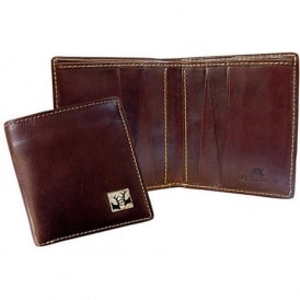 Rutting Stags Leather Bill Fold Wallet