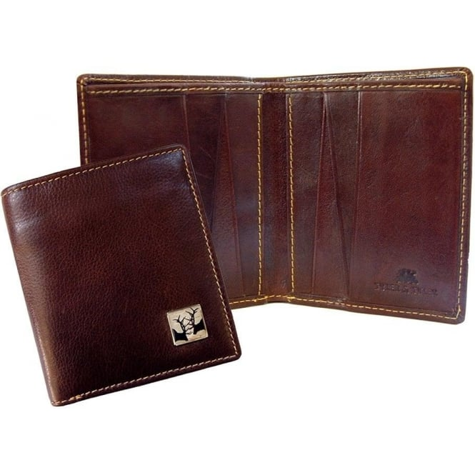 TYLER & TYLER Rutting Stags Leather Jeans Wallet