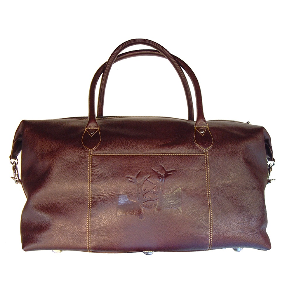 Buy Tyler And Tyler Leather Weekender Bag For Men The