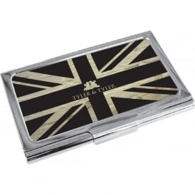 Union Jack Business Card Holder
